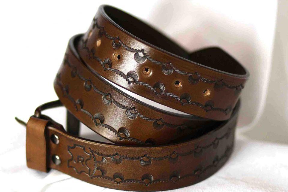 980fab7dc Zobrazenie položiek podľa značky: kožený remeň - Výrobky z kože - kožené  výrobky - Rabatin Jozef